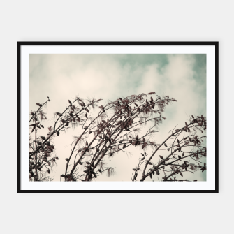 Miniatur Branches Framed poster, Live Heroes