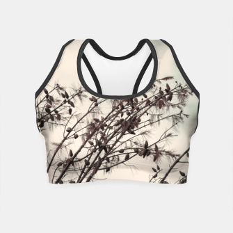 Miniatur Branches Crop Top, Live Heroes