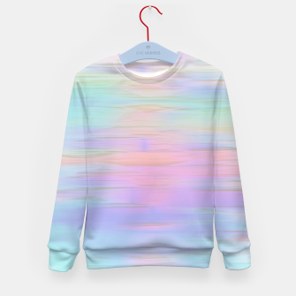 Thumbnail image of Noisy gradient 1 pastel  Kid's sweater, Live Heroes