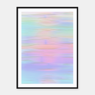 Thumbnail image of Noisy gradient 1 pastel  Framed poster, Live Heroes