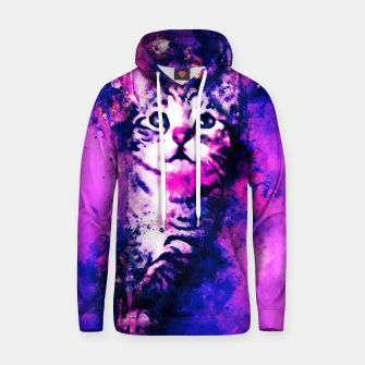 Thumbnail image of gxp pianca baby cat kitten splatter watercolor purple pink Hoodie, Live Heroes