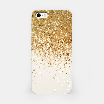 Thumbnail image of Sparkling Gold Glitter Glam #2 #shiny #decor #art  iPhone-Hülle, Live Heroes