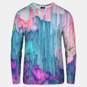 Thumbnail image of Tulip Stream - Abstract Pixel Art Unisex sweater, Live Heroes