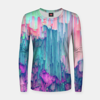 Thumbnail image of Tulip Stream - Abstract Pixel Art Women sweater, Live Heroes