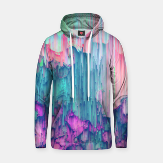 Thumbnail image of Tulip Stream - Abstract Pixel Art Hoodie, Live Heroes