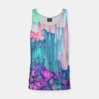 Thumbnail image of Tulip Stream - Abstract Pixel Art Tank Top, Live Heroes