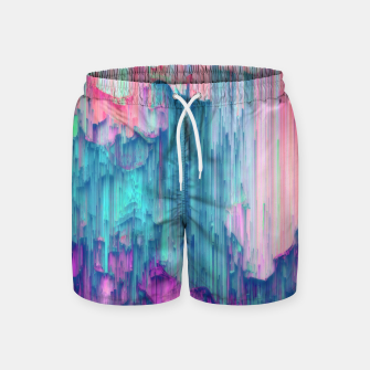 Miniature de image de Tulip Stream - Abstract Pixel Art Swim Shorts, Live Heroes