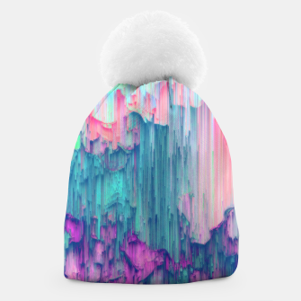 Thumbnail image of Tulip Stream - Abstract Pixel Art Beanie, Live Heroes