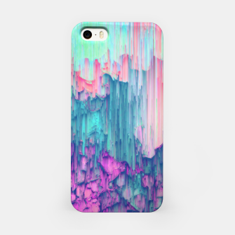 Thumbnail image of Tulip Stream - Abstract Pixel Art iPhone Case, Live Heroes