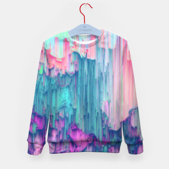 Thumbnail image of Tulip Stream - Abstract Pixel Art Kid's sweater, Live Heroes