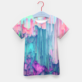 Thumbnail image of Tulip Stream - Abstract Pixel Art Kid's t-shirt, Live Heroes