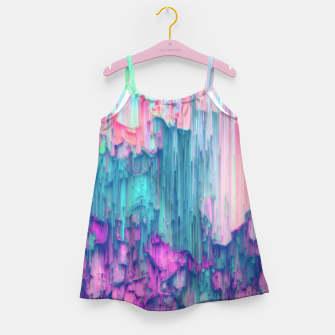 Thumbnail image of Tulip Stream - Abstract Pixel Art Girl's dress, Live Heroes