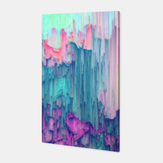 Thumbnail image of Tulip Stream - Abstract Pixel Art Canvas, Live Heroes