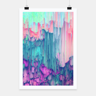 Thumbnail image of Tulip Stream - Abstract Pixel Art Poster, Live Heroes