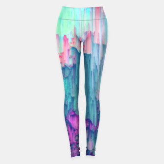 Miniaturka Tulip Stream - Abstract Pixel Art Leggings, Live Heroes