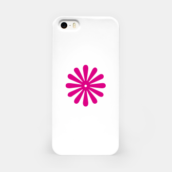 Thumbnail image of Magenta Flower Design iPhone Case, Live Heroes