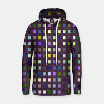 Thumbnail image of Multi Squares Pattern Hoodie, Live Heroes