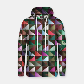 Thumbnail image of Multi Triangles 3 Pattern Hoodie, Live Heroes