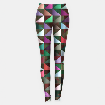 Thumbnail image of Multi Triangles 3 Pattern Leggings, Live Heroes