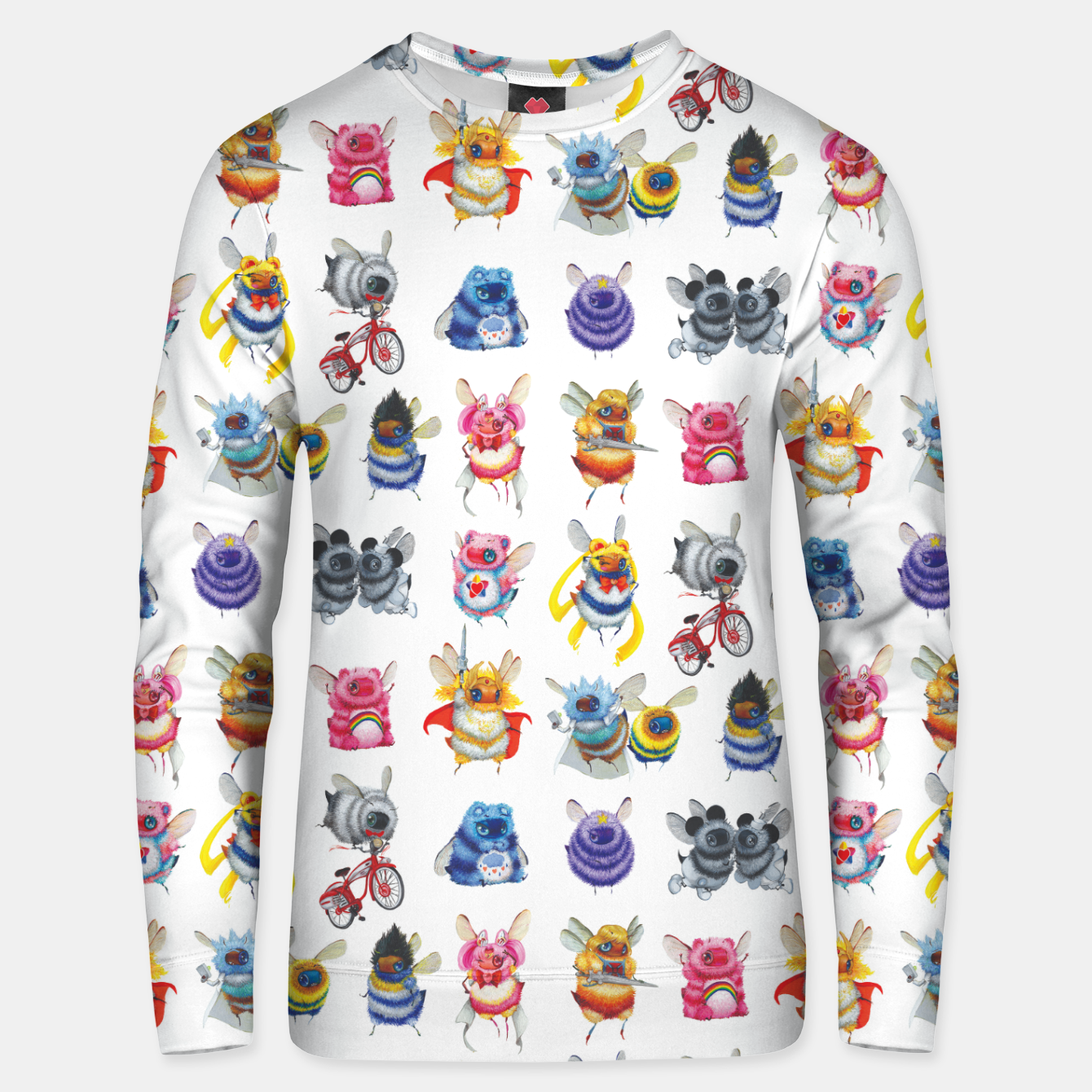 Image of Pop Culture Bee Sweater - Live Heroes