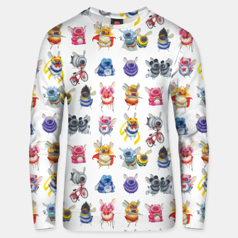 Thumbnail image of Pop Culture Bee Sweater, Live Heroes