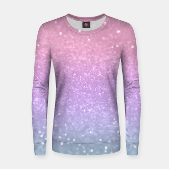 Thumbnail image of Unicorn Princess Glitter #1 #pastel #decor #art Frauen sweatshirt, Live Heroes