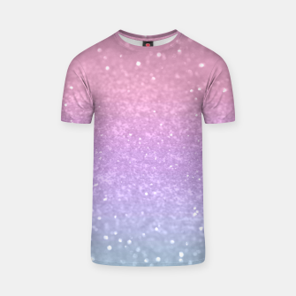 Thumbnail image of Unicorn Princess Glitter #1 #pastel #decor #art T-Shirt, Live Heroes