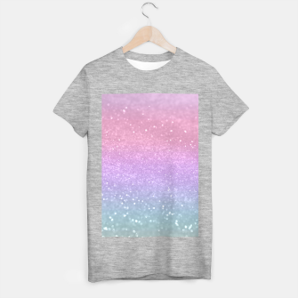 Thumbnail image of Unicorn Princess Glitter #1 #pastel #decor #art T-Shirt regulär, Live Heroes