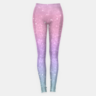 Thumbnail image of Unicorn Princess Glitter #1 #pastel #decor #art Leggings, Live Heroes