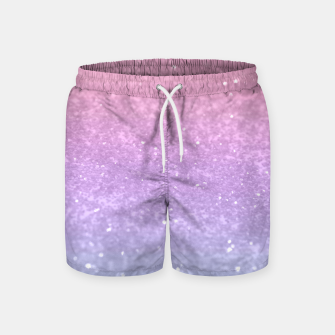 Thumbnail image of Unicorn Princess Glitter #1 #pastel #decor #art Badeshorts, Live Heroes