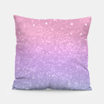 Thumbnail image of Unicorn Princess Glitter #1 #pastel #decor #art Kissen, Live Heroes