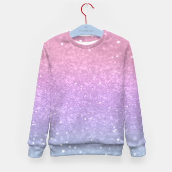 Thumbnail image of Unicorn Princess Glitter #1 #pastel #decor #art Kindersweatshirt, Live Heroes