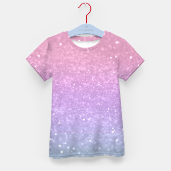 Thumbnail image of Unicorn Princess Glitter #1 #pastel #decor #art T-Shirt für kinder, Live Heroes