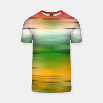 Thumbnail image of Noisy gradient 3 T-shirt, Live Heroes