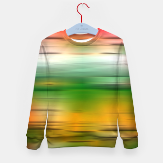 Thumbnail image of Noisy gradient 3 Kid's sweater, Live Heroes
