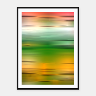 Thumbnail image of Noisy gradient 3 Framed poster, Live Heroes
