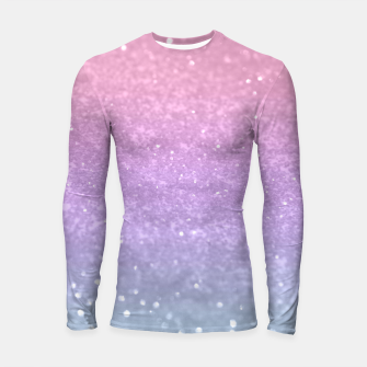 Thumbnail image of Unicorn Princess Glitter #1 #pastel #decor #art Longsleeve rashguard, Live Heroes