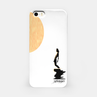 Thumbnail image of Moon Surf iPhone Case, Live Heroes