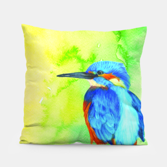 Thumbnail image of kingfisher Pillow, Live Heroes