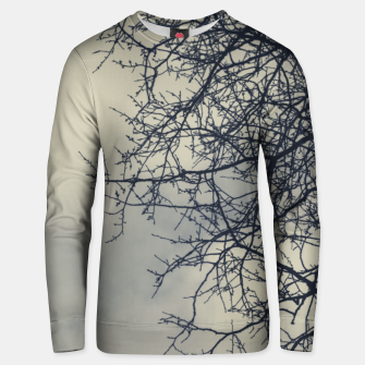 Miniatur Clouds and branches Unisex sweater, Live Heroes