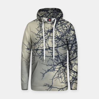 Miniatur Clouds and branches Hoodie, Live Heroes