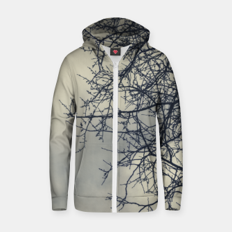 Miniatur Clouds and branches Zip up hoodie, Live Heroes