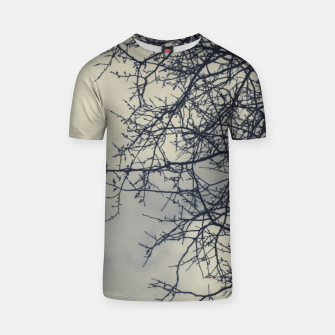 Miniatur Clouds and branches T-shirt, Live Heroes