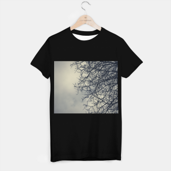 Miniatur Clouds and branches T-shirt regular, Live Heroes