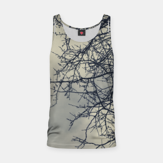 Miniatur Clouds and branches Tank Top, Live Heroes