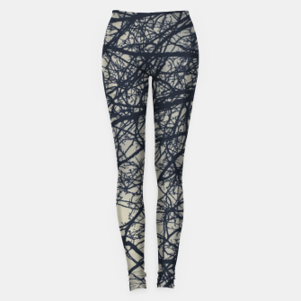 Miniatur Clouds and branches Leggings, Live Heroes