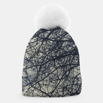 Miniatur Clouds and branches Beanie, Live Heroes