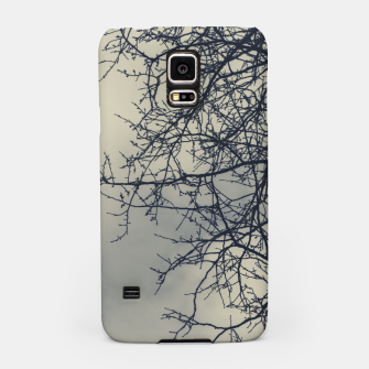Miniatur Clouds and branches Samsung Case, Live Heroes