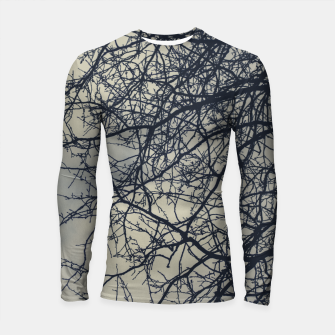 Miniatur Clouds and branches Longsleeve rashguard , Live Heroes
