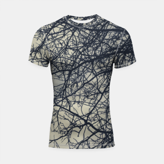 Miniatur Clouds and branches Shortsleeve rashguard, Live Heroes